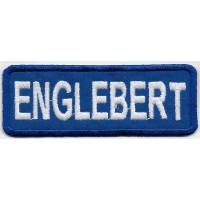 0894 Parche emblema bordado 9X3 ENGLEBERT