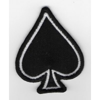 1585 Embroidered patch 7x5 ACE OF SPADES barry sheene