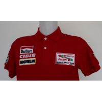 1201 polo TOYOTA TEAM EUROPE CASTROL MARLBORO WORLD RALLY Premium Quality