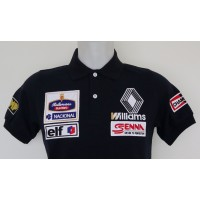 1204 polo AYRTON SENNA ROTHMANS WILLIAMS RENAULT Premium Quality