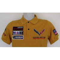 2424 Polo CORVETTE RACING TEAM LE MANS CHEVROLET MOTORSPORT Premium Quality