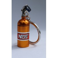 2435 KEYRING NOS BOTTLE LIGHT ORANGE