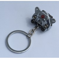 2437 KEYRING BREMBO BRAKE CALIPERS silver