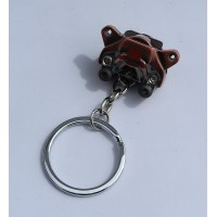 2438 KEYRING BREMBO BRAKE CALIPERS silver