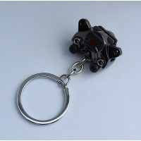 2439 KEYRING BREMBO BRAKE CALIPERS bronze
