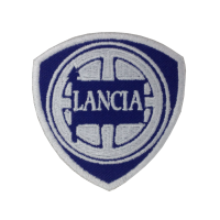 0829 Patch emblema bordado 7x7 LANCIA 1907