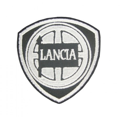 0829 Embroidered patch 7x7 LANCIA 1907