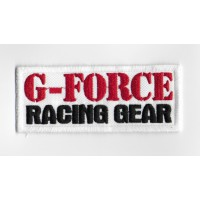 Embroidered patch 10x4 G-Force Racing Gear
