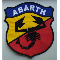 Embroidered patch 22x20 ABARTH