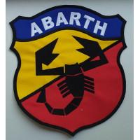 Patch emblema bordado 22x20 ABARTH