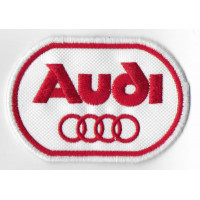 Embroidered patch 8x6 AUDI