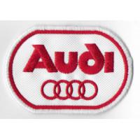Patch emblema bordado 8x6 AUDI