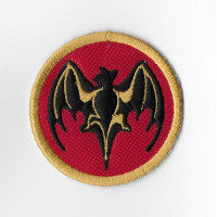 1705 Embroidered sew on patch 5X5 BACARDI