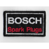 0230 Embroidered patch  6x4 BOSCH Spark Plugs