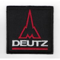 2491 Embroidered patch 7x7 DEUTZ