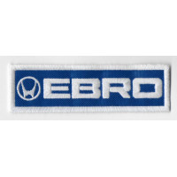 2499 Embroidered patch 11x3 EBRO MOTOR IBERICA SA