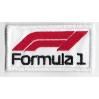 2501 Embroidered patch 7x4 FORMULA 1 F1