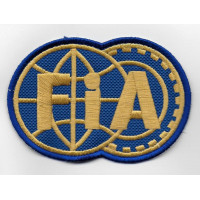 2505 Embroidered patch 9x6 FIA