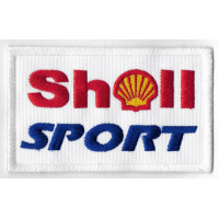 0121 Embroidered patch 10x6 SHELL SPORT