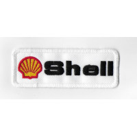 2516 Embroidered patch 10x4 SHELL