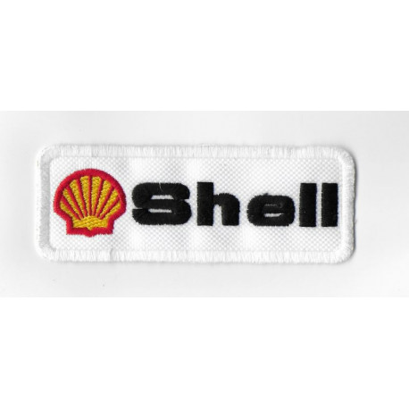1755 Embroidered patch 10x4 SHELL