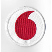 Embroidered patch 7x7  VODAFONE