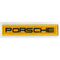 2519 Embroidered patch 11x2 PORSCHE