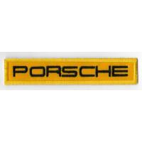 0675 Patch emblema bordado 11x2 PORSCHE