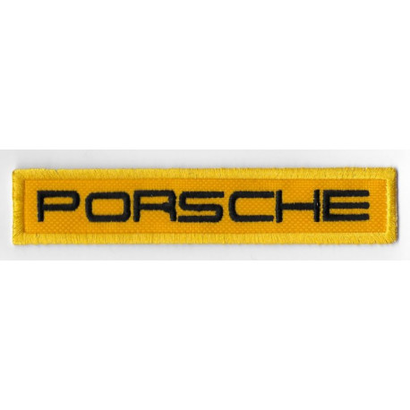 0675 Embroidered patch 11x2 PORSCHE