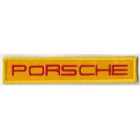 2519 Patch emblema bordado 11x2 PORSCHE