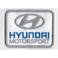 2523 Embroidered patch 8x6 HYUNDAI MOTORSPORT