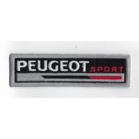 2527 Patch emblema bordado 11X3 PEUGEOT SPORT