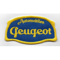 2529 Embroidered patch 9x5 PEUGEOT AUTOMOBILES