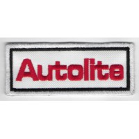0881 Embroidered patch 10x4 AUTOLITE