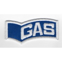 Embroidered patch 8x4 GAS