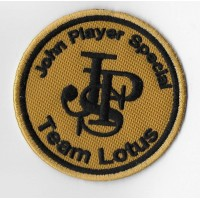 0659 Embroidered patch 7x7 LOTUS JPS TEAM LOTUS JOHN PLAYER SPECIAL