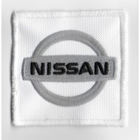 Embroidered patch 7x7 Nissan
