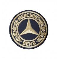 0438 Parche emblema bordado 7x7 MERCEDES BENZ 1926
