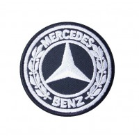 0439 Embroidered patch 7x7 MERCEDES BENZ 1926