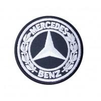 0439 Parche emblema bordado 7x7 MERCEDES BENZ 1926