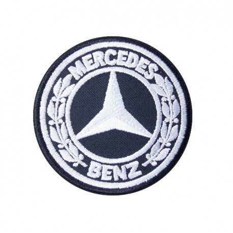 Embroidered patch 7x7 MERCEDES BENZ