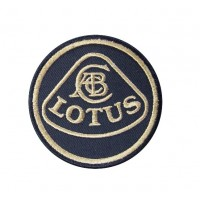 0440 Embroidered patch 7x7 LOTUS