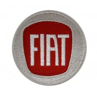 0442 Embroidered patch 7x7 FIAT 2006 LOGO