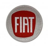 0442 Parche emblema bordado 7x7 FIAT 2006 LOGO