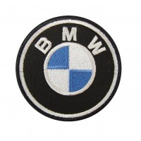 0444 Patch emblema bordado 7x7 BMW 2000 LOGO