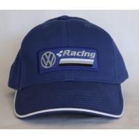 2728 VW RACING VOLKSWAGEN ADULT 6 PANELS CAP