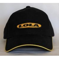 2733 LOLA CARS ADULT 6 PANELS CAP