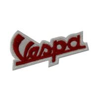 0460 Embroidered patch sew on 7x4 Piaggio Vespa