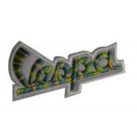 0463 Embroidered patch sew on 7x4 Piaggio Vespa
