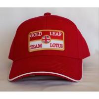 2740 TEAM LOTUS GOLD LEAF ADULT 6 PANELS CAP